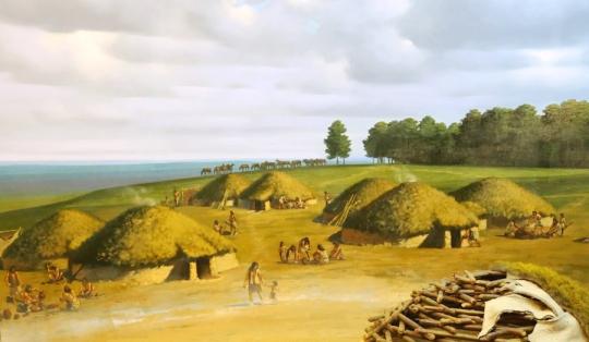 жилище каменного века - Ботайская культура