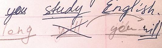 3 способа корректировать рукописное