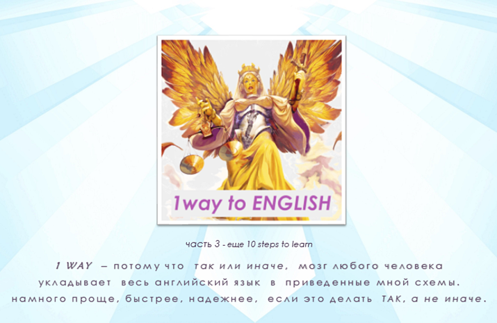 Самоучитель 1way-to-English - части 1, 2, 3