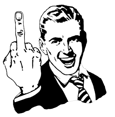 - фак ю - fuck you - происхождение жеста и выражения