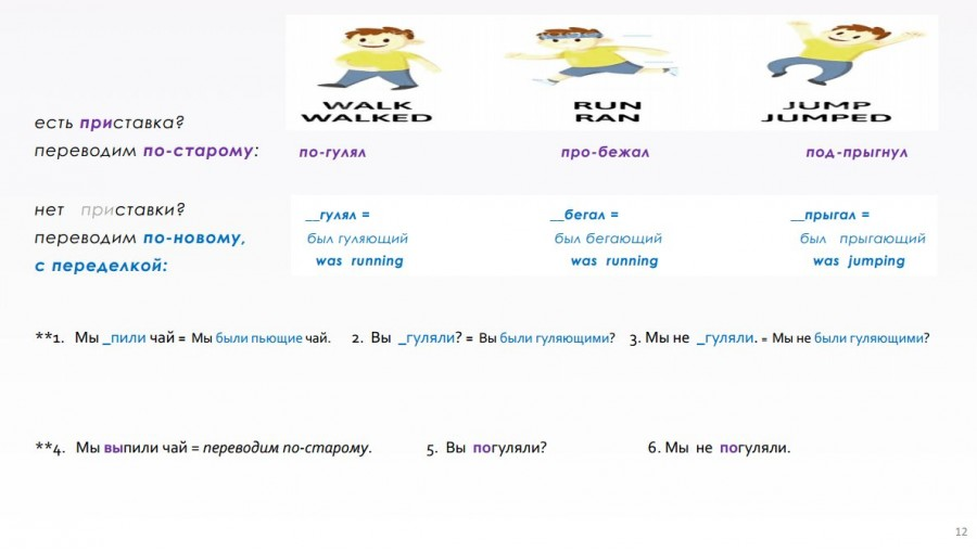континьюс в английском для детей 1