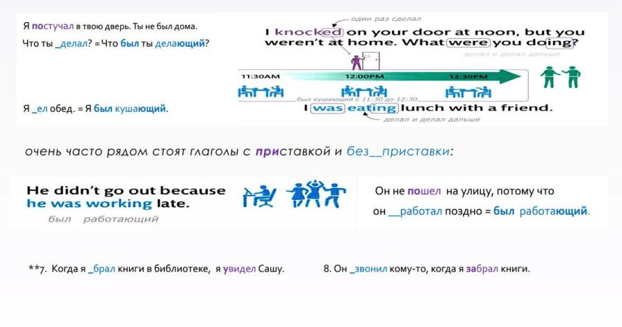 континьюс в английском для детей 2