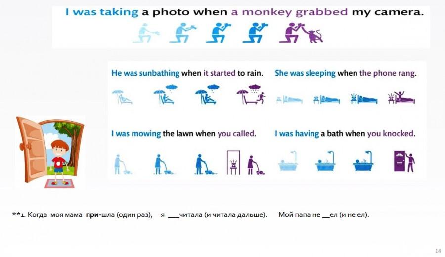 континьюс в английском для детей 3