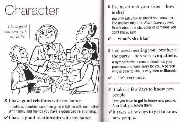work character