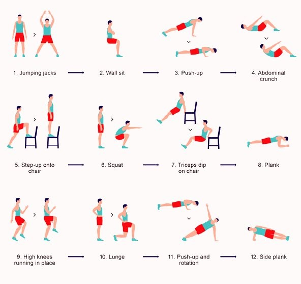 __7 min work out