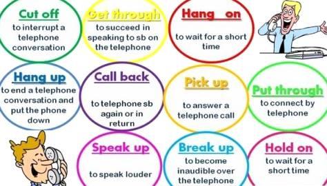 ____phone verbs