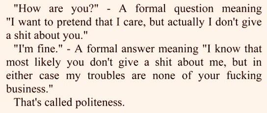 __polite howareyou