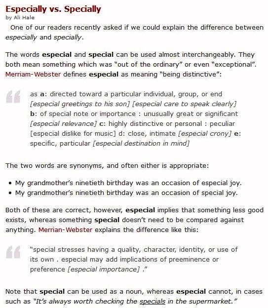 __special-and-especial