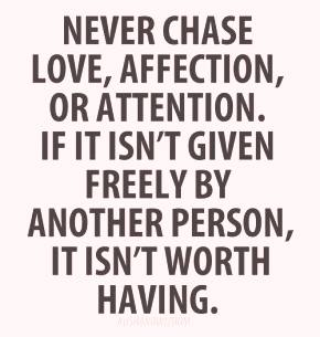 _NEVER CHASE