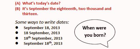 ___как произнести дату на английском