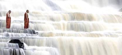 в раб Pongua waterfall in Vietnam