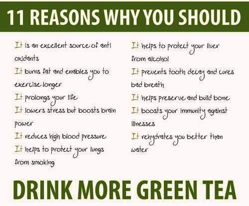 ____зеленый чай