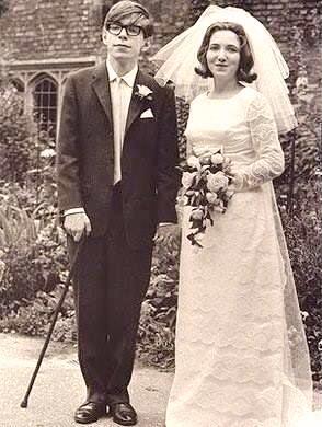 Свадьба Стивена Хокинга и Джейн Уайлд, 1965 г 1