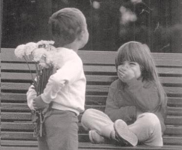 м и ж в раб дети с цветами