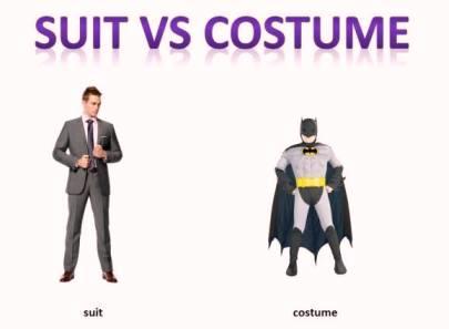 suit, costume, dress, clothes, wear. разница