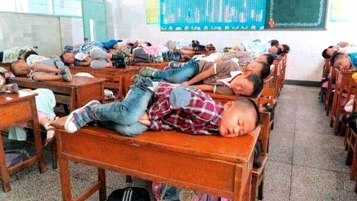 __In china allow children to sleep