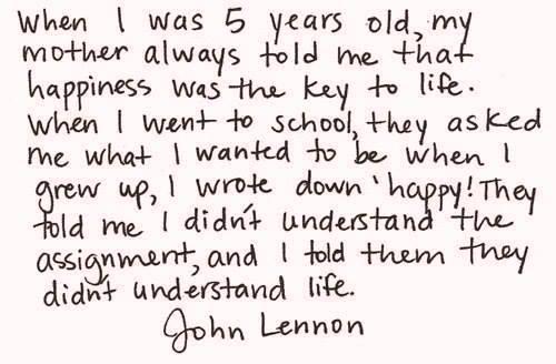 __Джон Леннон, случай в школе