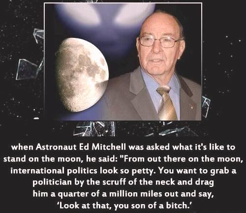 _о чем думается, стоя на Луне