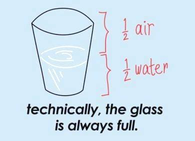 __glass знание стакан всегда полный