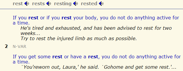 to rest - to have a rest. to try - to have a try. разница