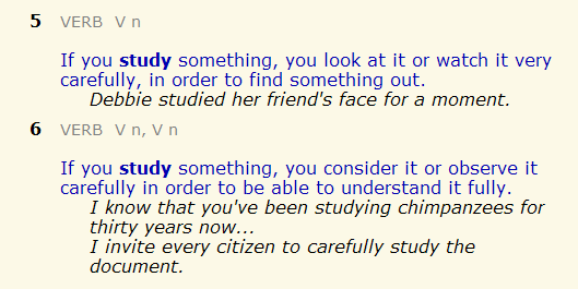 learn - study. разница