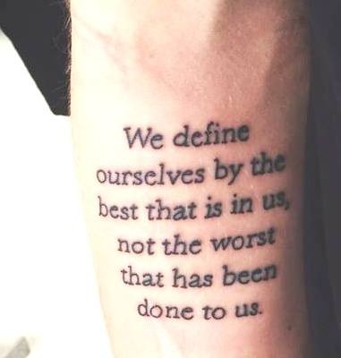 __DEFINE OURSELVES перевод