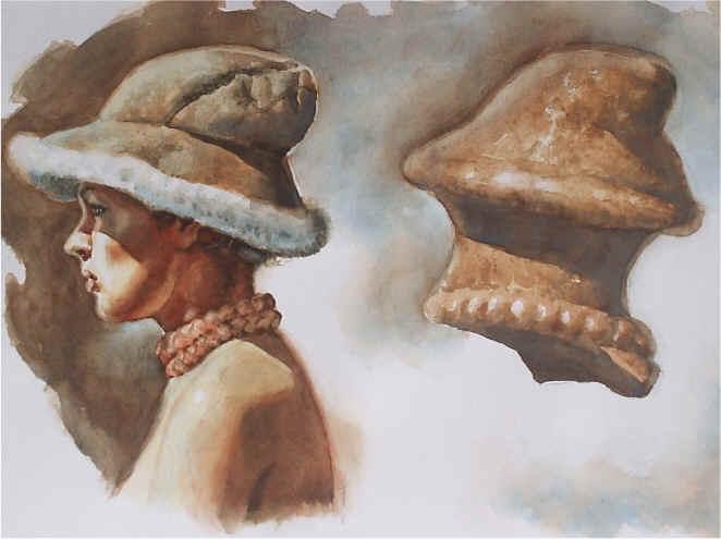 Pavlovienské kloboukovité hlavičky