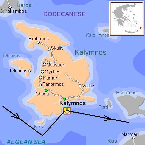 калимнос-карта