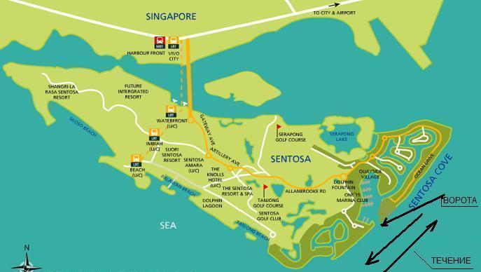 SC - Map