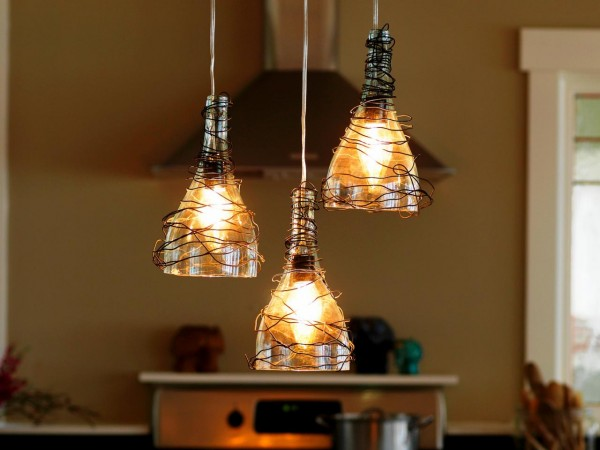 kitchen-pendant-lights-clear-glass