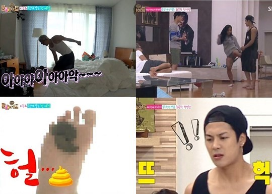 Song ga Yeon Legs Song Ga-yeon's Low Kick