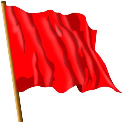 что значит красный флаг на войне