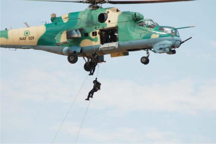 ми24В ввс нигерии