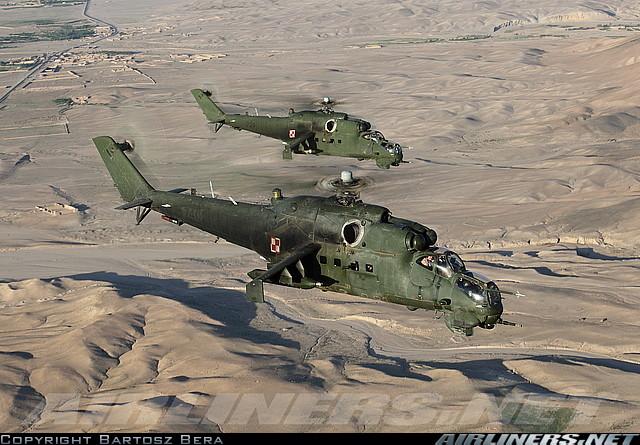 ми35 польша в афгане