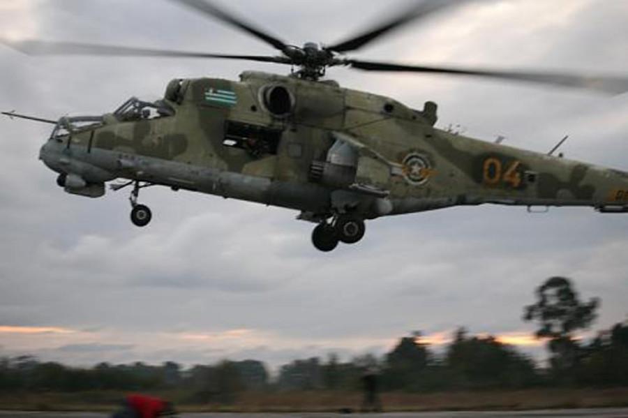 Mi-24P 04 Abkhazian AF (SUI 18nov09) 2