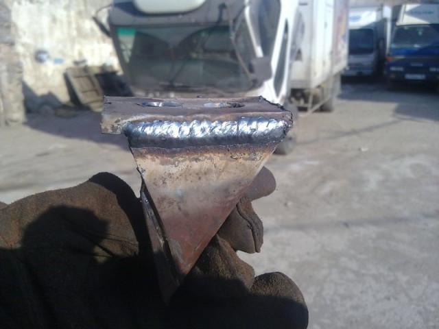 Кронштейн крепления двигателя к раме минитрактора