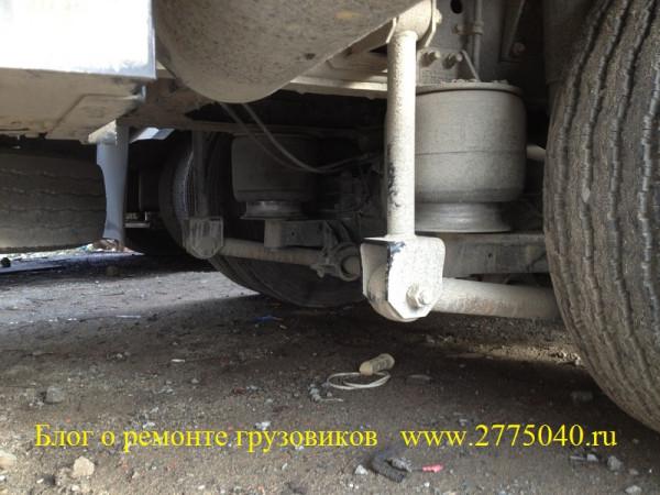 Ремонт пневмоподвески грузовика Исузу Гига ( Isuzu Giga ) - Срочный ремонт грузовиков без выходных.
