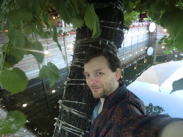 селфи с деревом