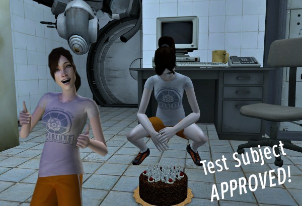 chell approved!