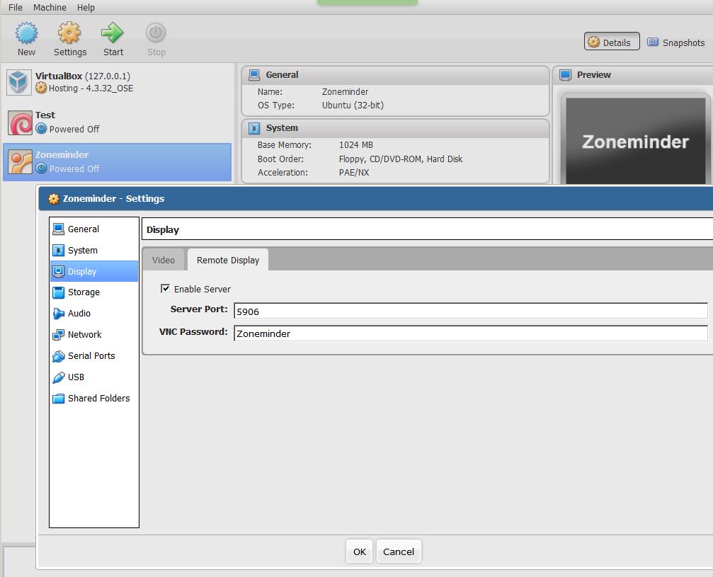 Virtualbox на nas4free из коробки: сервер, noVNC клиент