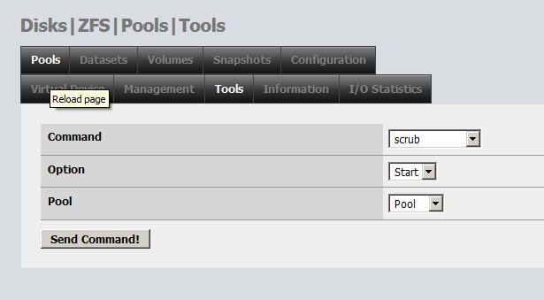 Проверка целостности данных на ZFS NAS - scrub: 2gusia ...