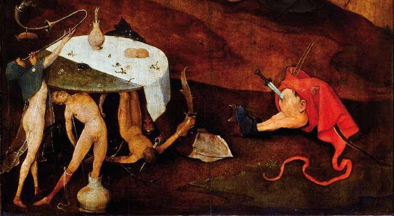 Искушение св.Антония фрагмент
