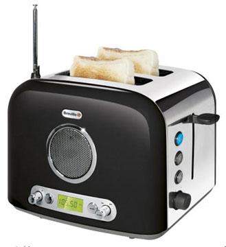 Breville VTT296 и радио и тостер