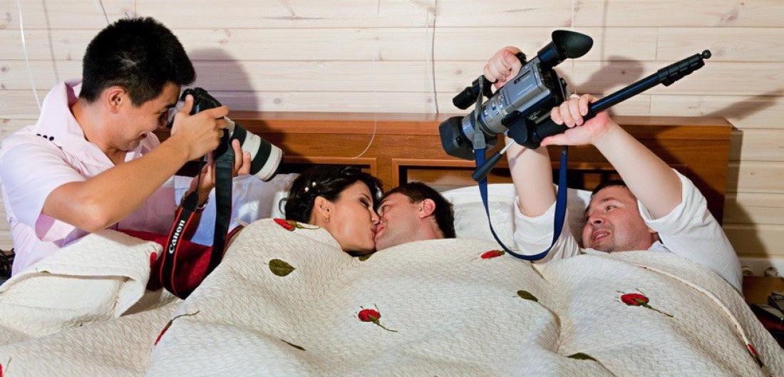 фото первой брачной ночи