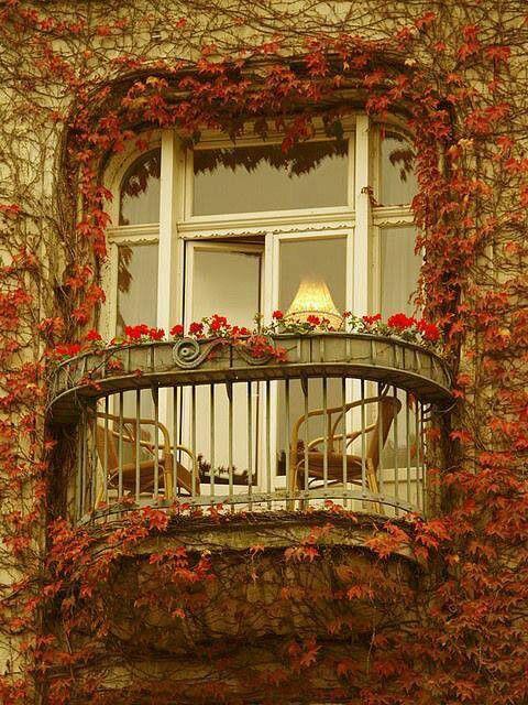 балкон париж