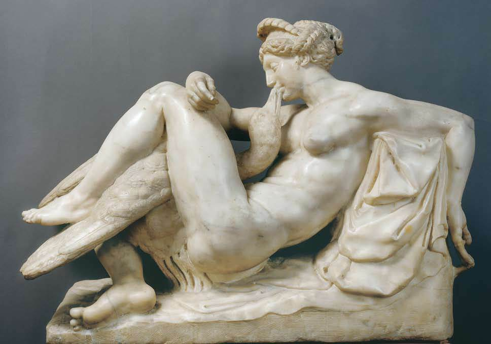 AMMANATI Bartolomeo леда и лебедь 1540