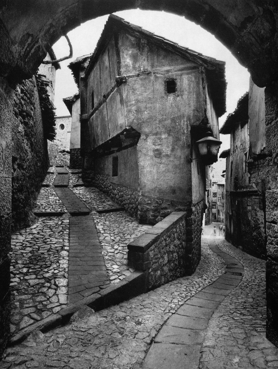 Albarracin Spain 1955