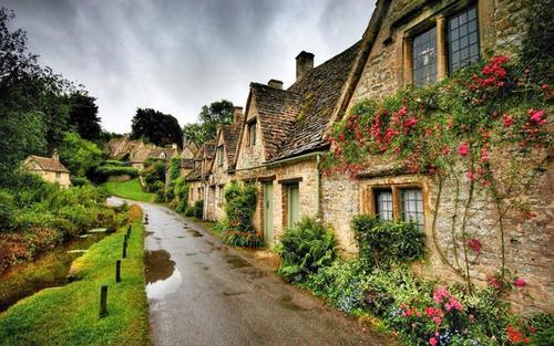 британская деревня
