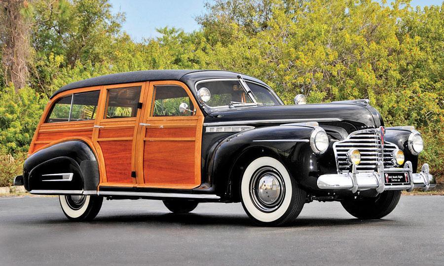 1941 Buick Eight Series 49 Estate Wagon