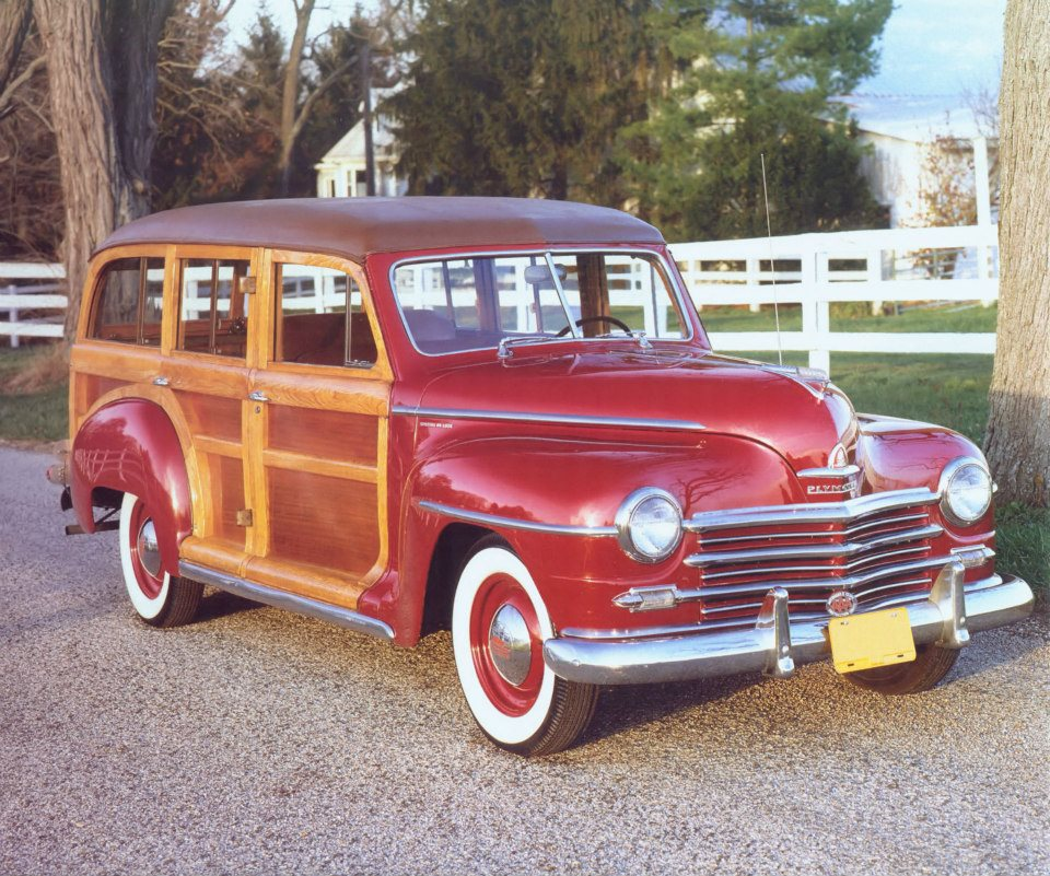 1947 Plymouth P-15 Special Deluxe Station Wagon